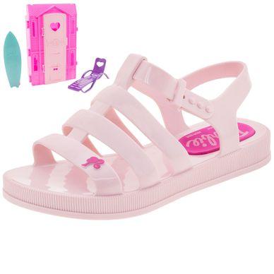45bf4ad5c2 Sandália Infantil Feminina Barbie Dreamhouse .