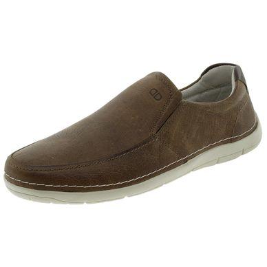 e8f3f9e2b6 Sapato Masculino Sharp Conhaque Democrata - 1.
