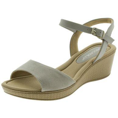 16d410f11 Sandália - Sandália de Salto, Anabela em até 10x   Clovis Calçados