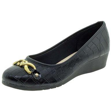 c35a4527f8 Sapato Feminino Salto Baixo Moleca - 5156439 .