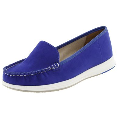 14d35ec8f7 Mocassim Feminino Azul Vizzano - 1268100
