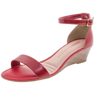143731412 Sandália Anabela com ótimos preços | Clovis Calçados