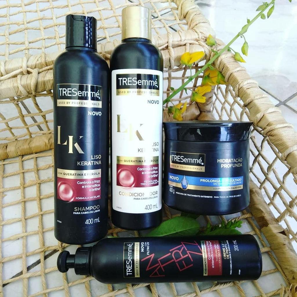 a7ae70c82 Shampoo Tresemmé Liso e Keratina 400ml - Drogarias Pacheco