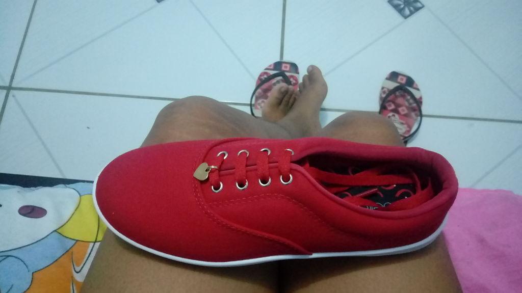 c9a7cd5d19c3a Tênis Feminino Casual Vermelho Beira Rio - 7321101 - cloviscalcados